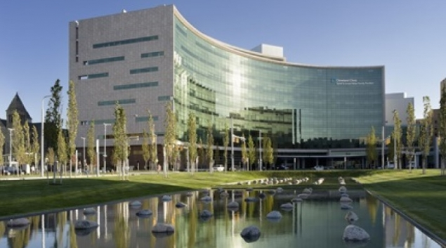 The Cleveland Clinic's main campus.