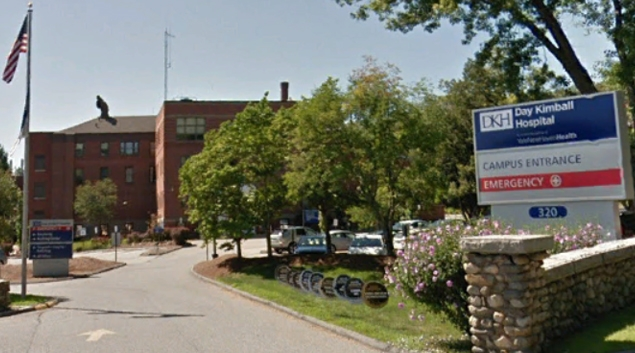 A Putnam, CT hospital run by Day Kimball Healthcare (Google Earth)