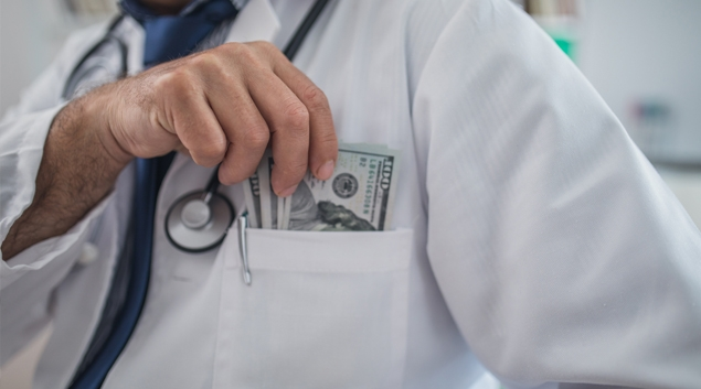 In the upper Midwest, physicians see median compensation that's 10%-15% higher than the national average.