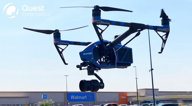 Walmart begins COVID-19 test kit drone delivery