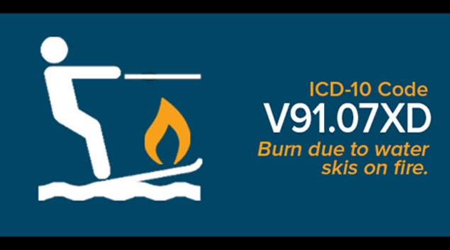 An example of a very specific ICD-10 code.