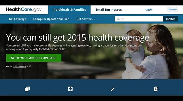 "Screenshot from <a href=""www.healthcare.gov"">www.healthcare.gov</a>"