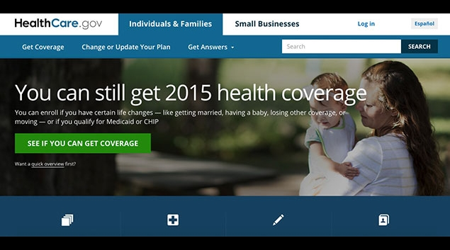 "Screenshot from <a href=""www.healthcare.gov"">www.healthcare.gov</a>"