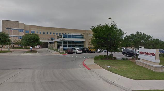 The HealthSouth Rehabilitation Hospital at Round Rock, Texas. (Google)