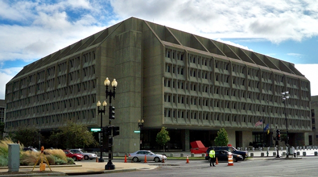 "The Department of Health and Human Services headquarters in Washington, D.C. Credit: <a href=""https://en.wikipedia.org/wiki/United_States_Department_of_Health_and_Human_Services#/media/File:DHHS2_by_Matthew_Bisanz.JPG"" target=""_blank""> Matthew G. Bisanz</a>"