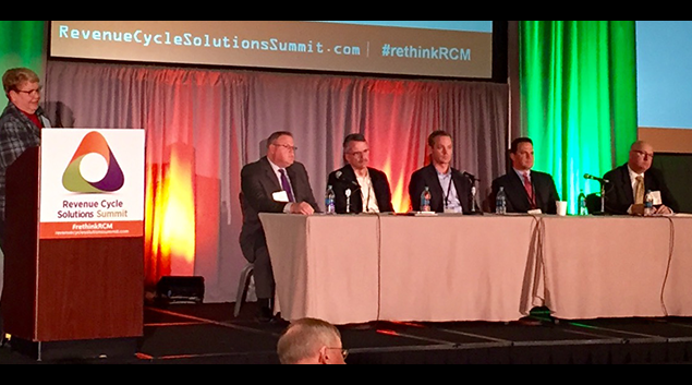 Healthcare experts discuss ICD-10 at the Revenue Cycle Solutions Summit.