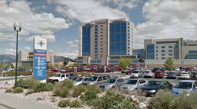 Intermountain Healthcare in Murray, Utah. Credit: Google Maps