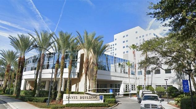Mayo Clinic in Jacksonville, Florida (Google Earth)