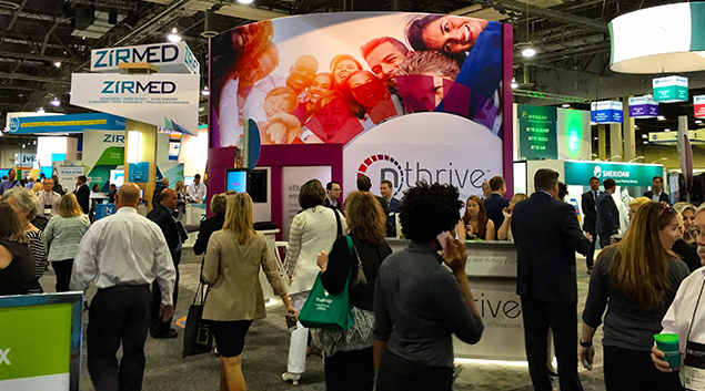 The new nThrive company debuted at the HFMA 2016 ANI in Las Vegas. (Photo: Henry Powderly)