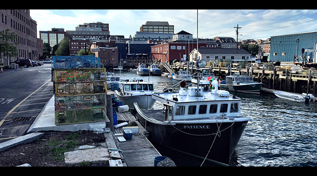 Portland, Maine in August 2015. (photo by Henry Powderly)
