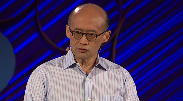 Press Ganey Chief Medical Officer Thomas H. Lee giving a TED talk in 2015.
