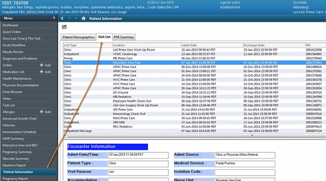 "A screenshot of a sample revenue cycle management tool. Credit: <a href=""https://www.youtube.com/watch?v=TPBEFGbYRFE"" target=""_blank"">YouTube</a>"