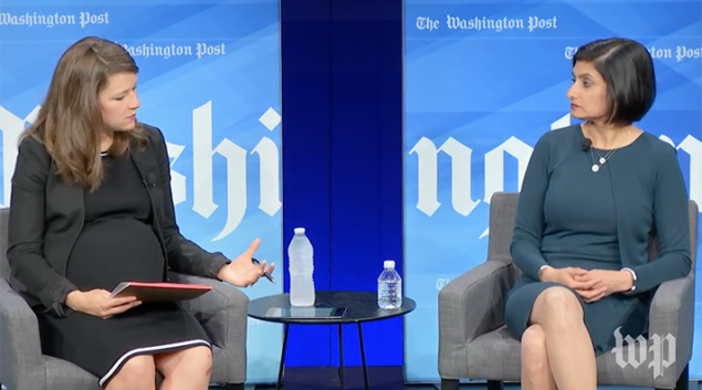 One-on-One with Seema Verma, Administrator of the U.S. Centers for Medicare and Medicaid Services via Washington Post Live on Youtube