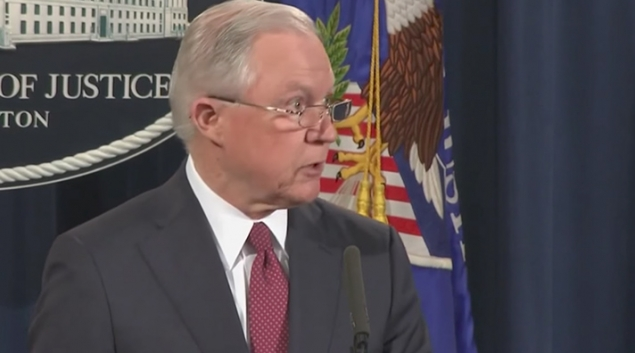 U.S. Attorney General Jeff Sessions announced on Tuesday the Trump administration's decision to end the Deferred Action for Childhood Arrivals program. (CNN)