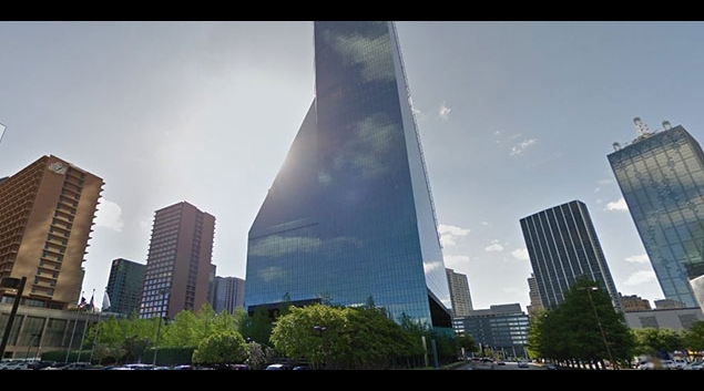 Tenet Healthcare's Dallas headquarters. (Google image)