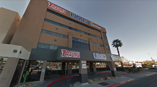 University Medical Center, Las Vegas. Credit: Google Maps
