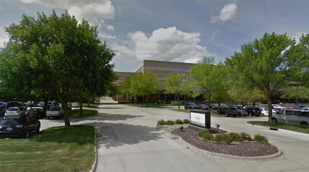 UnityPoint corporate offices in West Des Moines, Iowa. (Google Earth)