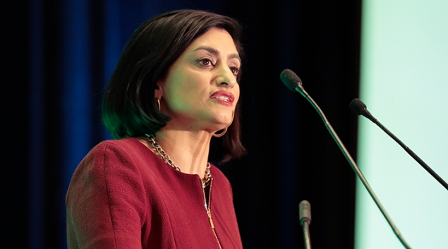 Centers for Medicare and Medicaid Services Administrator Seema Verma speaking at HIMSS18.