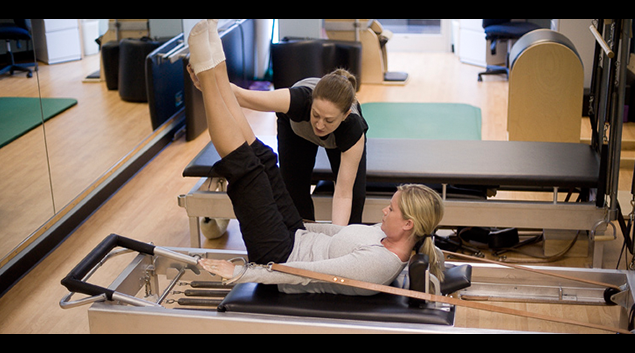 Strength training at a medical fitness center. (photo by the Medical Fitness Association)