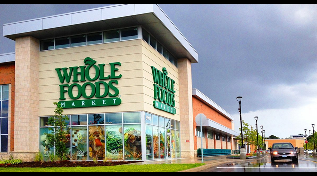 Whole Foods Market photo by ChadPerez49 via Wikimedia Commons