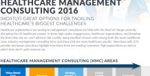 Premier takes highest marks in KLAS's 2016 Healthcare Management Consulting report