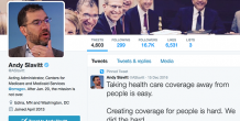 As he exits his CMS role, Andy Slavitt speaks out against ACA repeal on social media