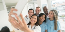 Telemedicine and social media intersect to advance population health