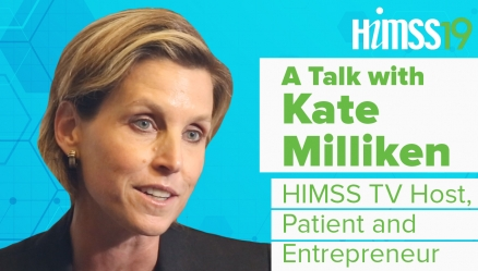 HIMSS19: Kate Milliken to Host HIMSS TV