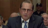 Hearing for HHS nominee Azar dominated by drug pricing issue
