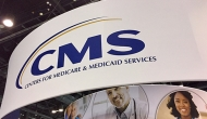 CMS sign at HIMSS17.