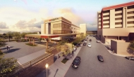 Artist's rendering of a new patient tower at Medical City Fort Worth.