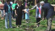 Mercy Hospital Joplin plants 9/11 Survivor tree sapling five years after deadly tornado