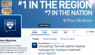 Screen shot of PennMedicine twitter page