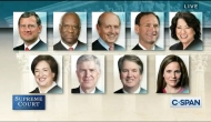 Photo portraits of the Supreme Court members in two rows