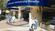 Thomas Jefferson University Hospital photo by Andy Gradel via Wikipedia