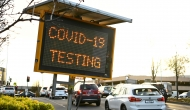 Electronic road sign: COVID-19 testing