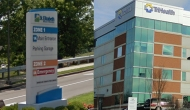 St. Elizabeth Healthcare and Trihealth signs.