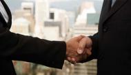 Merger handshake