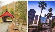 New Hampshire and California