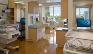 The new neonatal intensive care unit on the seventh floor of the Anderson Lucchetti Women's and Children's Center