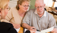 patients reviewing healthcare coverage