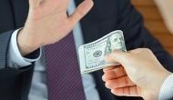 rejecting money