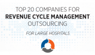Top 20 vendors for outsourced revenue cycle, large health systems: Blackbook
