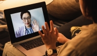 Telehealth consultation (Photo by Kilito Chan/Getty Images)