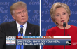 Hillary Clinton, Donald Trump skip healthcare at first presidential debate