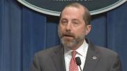 HHS Secretary Alex Azar: No public health emergency declared in U.S. for coronavirus