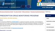 Pennsylvania launches redesigned prescription database to fight opioid addiction