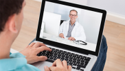 Telehealth claims increased significantly between April 2019 and 2020, report shows