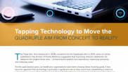 Tapping Technology to Move the Quadruple Aim from Concept to Reality